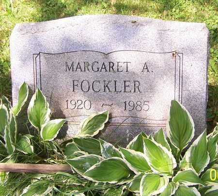FOCKLER, MARGARET A. - Stark County, Ohio | MARGARET A. FOCKLER - Ohio Gravestone Photos