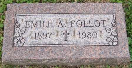 FOLLOT, EMILE A. - Stark County, Ohio   EMILE A. FOLLOT - Ohio Gravestone Photos
