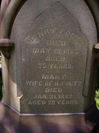 FOLTZ, HENRY - Stark County, Ohio | HENRY FOLTZ - Ohio Gravestone Photos