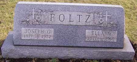 FOLTZ, ELLA M. - Stark County, Ohio | ELLA M. FOLTZ - Ohio Gravestone Photos