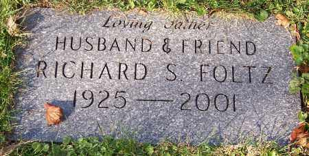 FOLTZ, RICHARD S. - Stark County, Ohio | RICHARD S. FOLTZ - Ohio Gravestone Photos