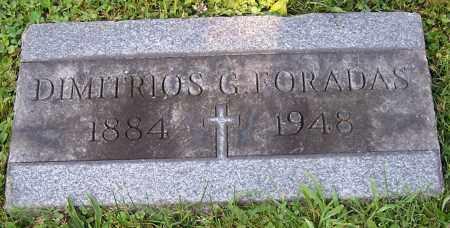 FORADAS, DIMITRIOS G. - Stark County, Ohio | DIMITRIOS G. FORADAS - Ohio Gravestone Photos