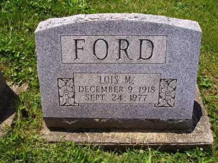 FORD, LOIS - Stark County, Ohio | LOIS FORD - Ohio Gravestone Photos