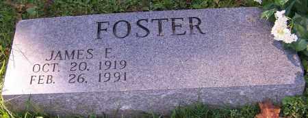 FOSTER, JAMES E. - Stark County, Ohio | JAMES E. FOSTER - Ohio Gravestone Photos