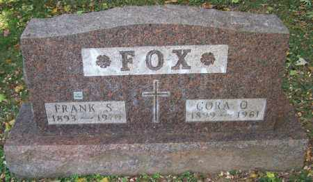 FOX, CORA O. - Stark County, Ohio | CORA O. FOX - Ohio Gravestone Photos