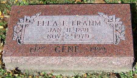 FRAHM, ELLA F. - Stark County, Ohio   ELLA F. FRAHM - Ohio Gravestone Photos