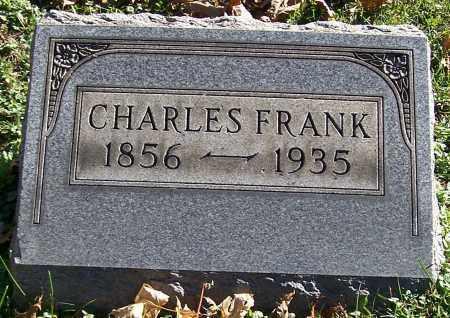 FRANK, CHARLES - Stark County, Ohio | CHARLES FRANK - Ohio Gravestone Photos