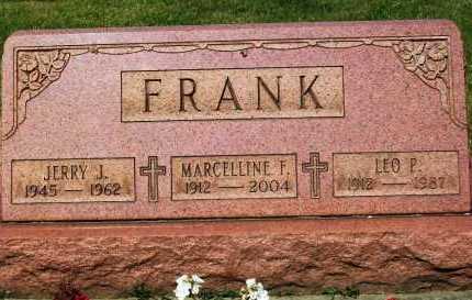 SCHILLIG FRANK, MARCELLINE F. - Stark County, Ohio | MARCELLINE F. SCHILLIG FRANK - Ohio Gravestone Photos