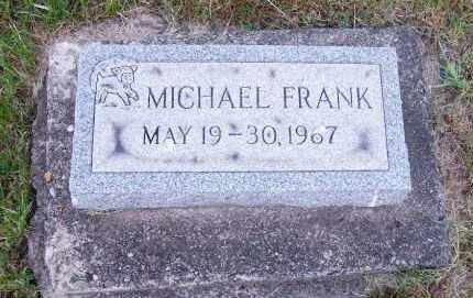 FRANK, MICHAEL - Stark County, Ohio | MICHAEL FRANK - Ohio Gravestone Photos