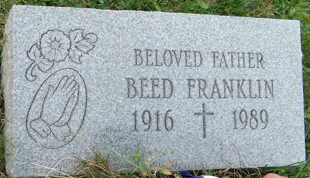 FRANKLIN, BEED - Stark County, Ohio | BEED FRANKLIN - Ohio Gravestone Photos