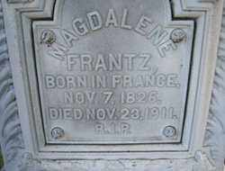 FRANTZ, MAGDALENE - Stark County, Ohio | MAGDALENE FRANTZ - Ohio Gravestone Photos