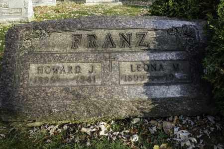 FRANZ, HOWARD J - Stark County, Ohio | HOWARD J FRANZ - Ohio Gravestone Photos