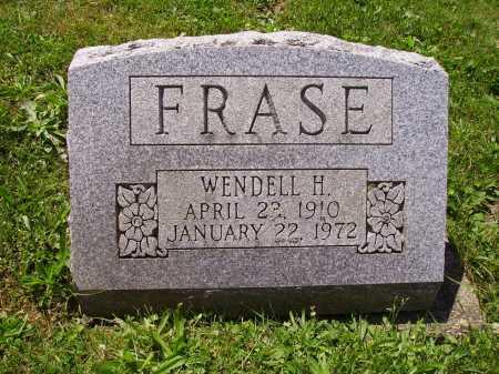FRASE, WENDELL H. - Stark County, Ohio | WENDELL H. FRASE - Ohio Gravestone Photos