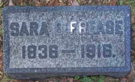 FREASE, SARA B. - Stark County, Ohio | SARA B. FREASE - Ohio Gravestone Photos