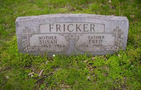 FRICKER, FREDERICK - Stark County, Ohio | FREDERICK FRICKER - Ohio Gravestone Photos