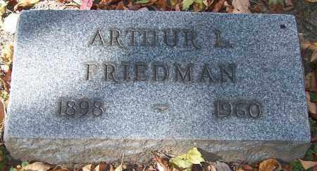 FRIEDMAN, ARTHUR L. - Stark County, Ohio | ARTHUR L. FRIEDMAN - Ohio Gravestone Photos