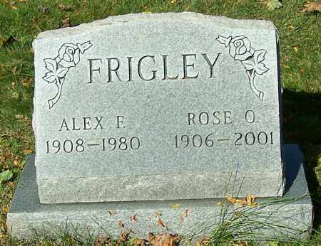 FRIGLEY, ROSE O. - Stark County, Ohio | ROSE O. FRIGLEY - Ohio Gravestone Photos