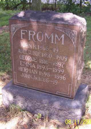 FROMM, EMMA - Stark County, Ohio | EMMA FROMM - Ohio Gravestone Photos
