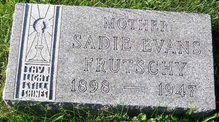 FRUTSCHY, SADIE EVANS - Stark County, Ohio | SADIE EVANS FRUTSCHY - Ohio Gravestone Photos