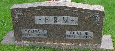FRY, ALICE M. - Stark County, Ohio | ALICE M. FRY - Ohio Gravestone Photos
