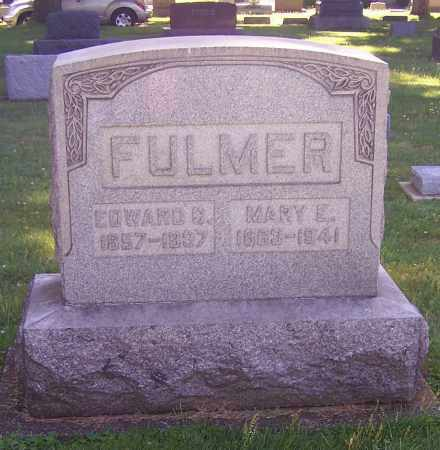 FULMER, EDWARD C. - Stark County, Ohio | EDWARD C. FULMER - Ohio Gravestone Photos