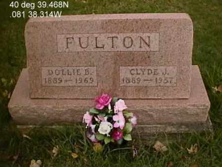 FULTON, DOLLIE B. - Stark County, Ohio | DOLLIE B. FULTON - Ohio Gravestone Photos