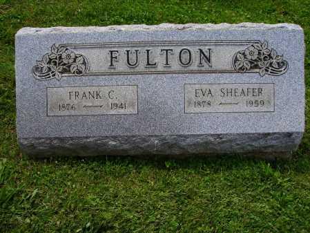 FULTON, EVA - Stark County, Ohio | EVA FULTON - Ohio Gravestone Photos