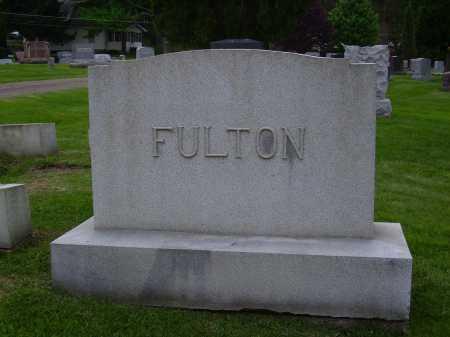 FULTON, FAMILY MONUMENT - Stark County, Ohio | FAMILY MONUMENT FULTON - Ohio Gravestone Photos