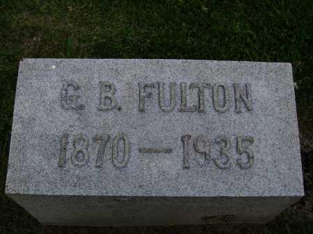 FULTON, GEORGE B. - Stark County, Ohio | GEORGE B. FULTON - Ohio Gravestone Photos