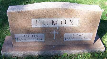 FUMOR, SIMEON - Stark County, Ohio | SIMEON FUMOR - Ohio Gravestone Photos