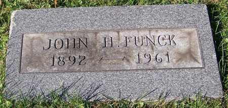 FUNCK, JOHN H. - Stark County, Ohio | JOHN H. FUNCK - Ohio Gravestone Photos