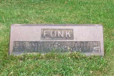 FUNK, EVA BLANCHE - Stark County, Ohio   EVA BLANCHE FUNK - Ohio Gravestone Photos