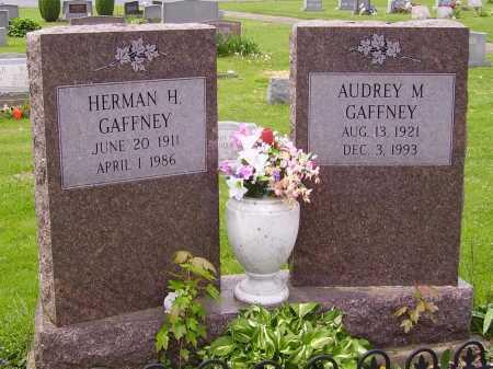 MANLEY GAFFNEY, AUDREY M. - Stark County, Ohio | AUDREY M. MANLEY GAFFNEY - Ohio Gravestone Photos