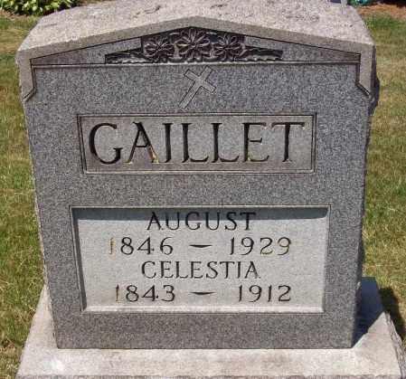 GAILLET, CELESTIA - Stark County, Ohio | CELESTIA GAILLET - Ohio Gravestone Photos
