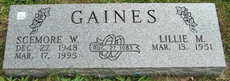 GAINES, SCEMORE W. - Stark County, Ohio | SCEMORE W. GAINES - Ohio Gravestone Photos