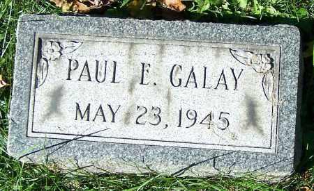 GALAY, PAUL E. - Stark County, Ohio | PAUL E. GALAY - Ohio Gravestone Photos