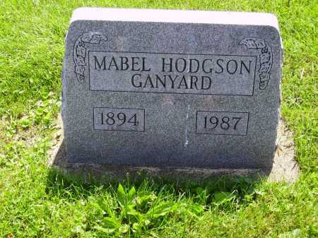 GANYARD, MABEL - Stark County, Ohio | MABEL GANYARD - Ohio Gravestone Photos