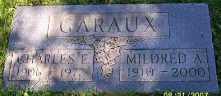 GARAUX, MILDRED A. - Stark County, Ohio | MILDRED A. GARAUX - Ohio Gravestone Photos