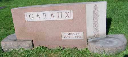 GARAUX, FLORENCE - Stark County, Ohio | FLORENCE GARAUX - Ohio Gravestone Photos