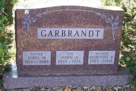 GARBRANDT, JOHN M. - Stark County, Ohio | JOHN M. GARBRANDT - Ohio Gravestone Photos