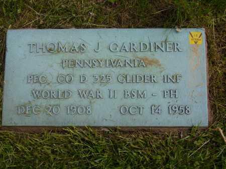 GARDINER, THOMAS J. - Stark County, Ohio | THOMAS J. GARDINER - Ohio Gravestone Photos