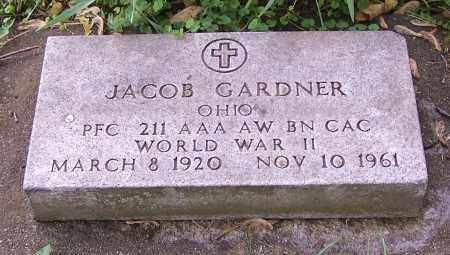 GARDNER, JACOB - Stark County, Ohio | JACOB GARDNER - Ohio Gravestone Photos