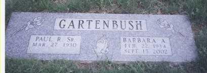 MERRYMAN GARTENBUSH, BARBARA ANN - Stark County, Ohio   BARBARA ANN MERRYMAN GARTENBUSH - Ohio Gravestone Photos