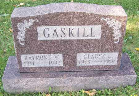 GASKILL, RAYMOND W. - Stark County, Ohio | RAYMOND W. GASKILL - Ohio Gravestone Photos