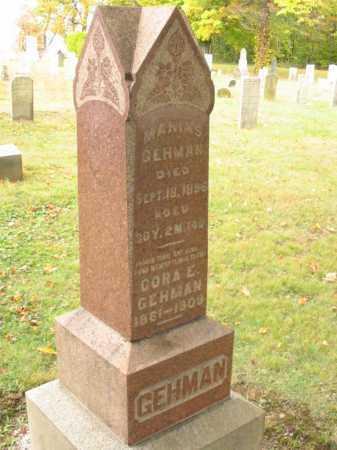 HOLIBAUGH GEHMAN, CORA E - Stark County, Ohio | CORA E HOLIBAUGH GEHMAN - Ohio Gravestone Photos