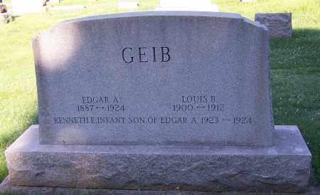 GEIB, LOUIS B. - Stark County, Ohio | LOUIS B. GEIB - Ohio Gravestone Photos