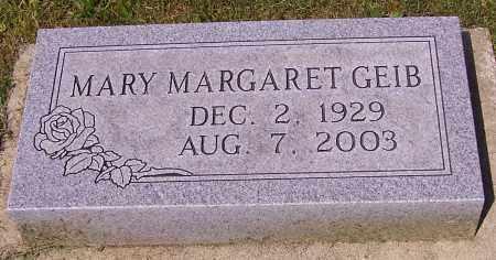 GEIB, MARY MARGARET - Stark County, Ohio   MARY MARGARET GEIB - Ohio Gravestone Photos