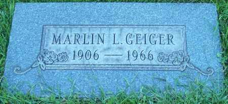GEIGER, MARLIN L. - Stark County, Ohio   MARLIN L. GEIGER - Ohio Gravestone Photos