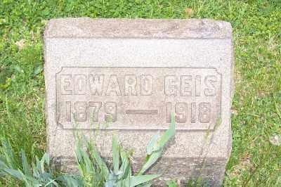 GEIS, EDWARD - Stark County, Ohio | EDWARD GEIS - Ohio Gravestone Photos