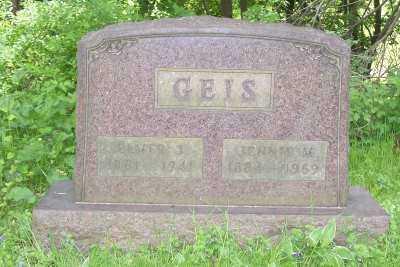 GEIS, JENNIE M. - Stark County, Ohio | JENNIE M. GEIS - Ohio Gravestone Photos